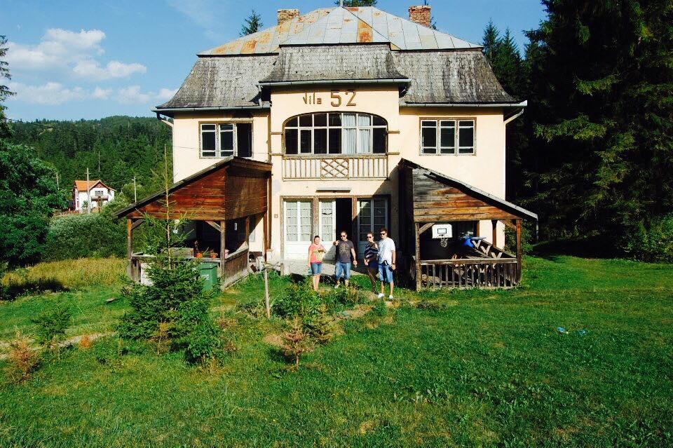 Borsec – vila 52, cu 20 de ani în urmă